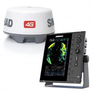 SIMRAD R2009 Display with 4G Radar Bundle