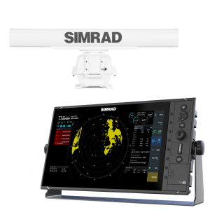 SIMRAD R3016 Display with 10kW 4ft HD Radar Scanner