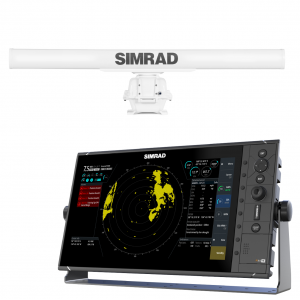 SIMRAD R3016 Display with 10kW 6ft HD Radar Scanner
