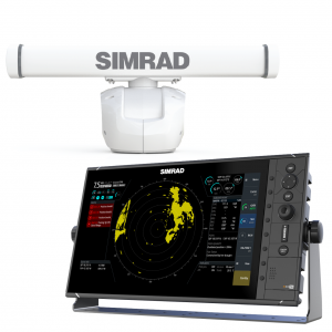 SIMRAD R3016 Display with HALO-3 Pulse Radar Bundle