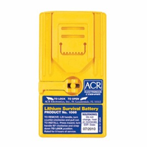 ACR 1066 GMDSS Lithium Battery for SR102 and SR103