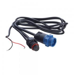 Blue Transducer to Uniplug Adapter