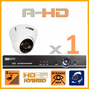 1080P Full HD Resolution 1 Camera System with 1 TB Hard Drive
